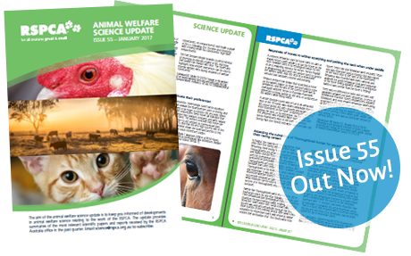 Animal welfare Science Update 55