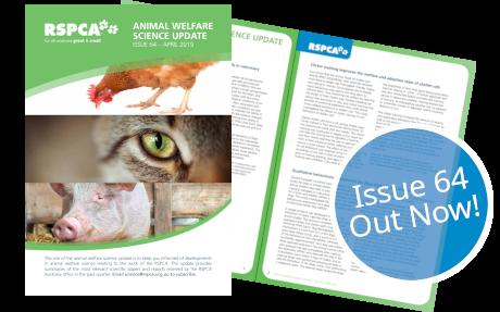 Animal Welfare Science Update 64