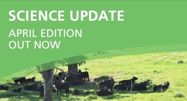 Latest issue of the science update cover